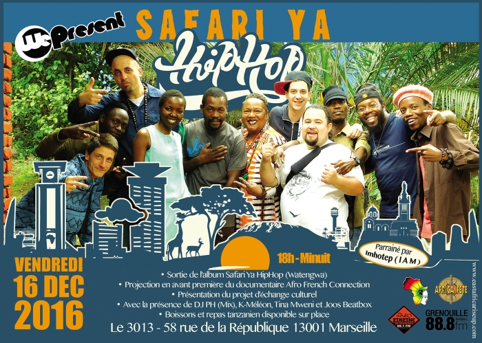 Apéro-Mix Safari ya HipHop